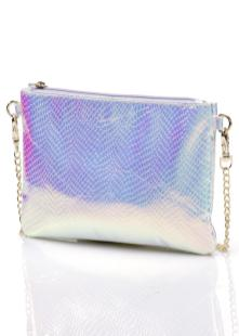 Bling - Bling ... Silberne Clutch aus der Kollektion Marcell von Berlin for bonprix