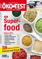 Super mit Blei - ÖKO TEST hat sich dem Thema Superfood angenommen