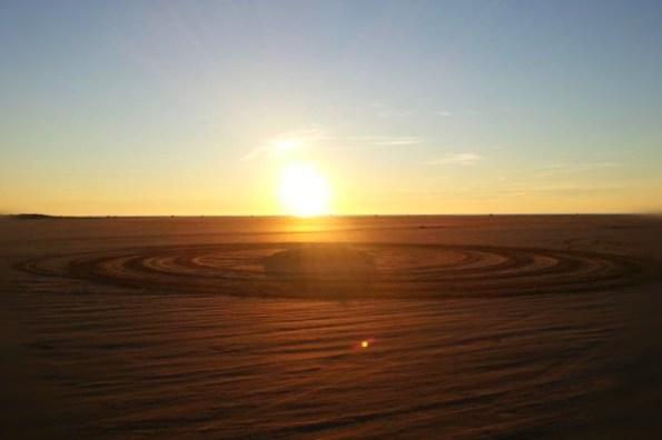 Geheimnisvoll oder einfach nur schön I Sandkreise am Strand