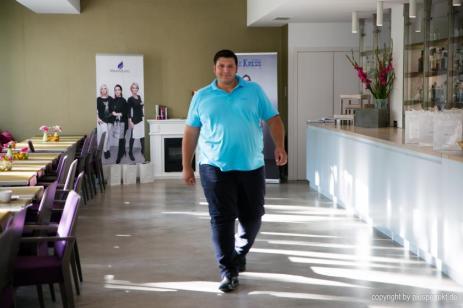 Beim Catwalk I Casting im Indigo-Hotel in Düsseldorf