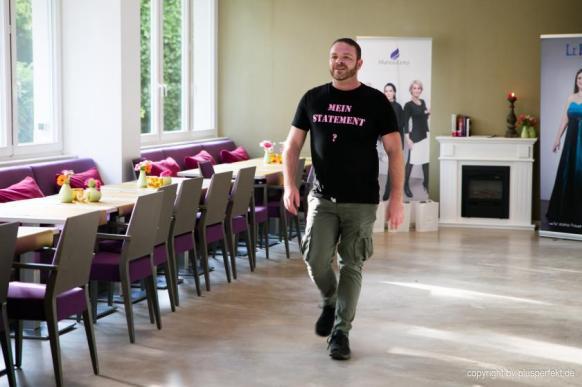 Mister Big - Male Model Michael beim Casting