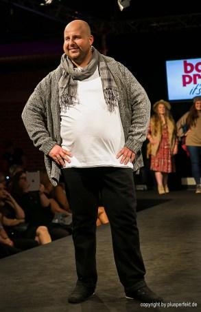 Plus Size Model für Männer