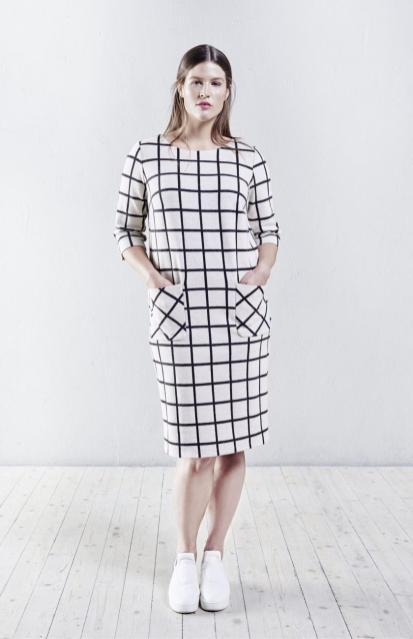 Trendthema: Karo-Styles in Schwarz-Weiß - PlusPerfekt