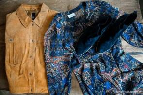 Lässiges Outfit in Blau-Beige