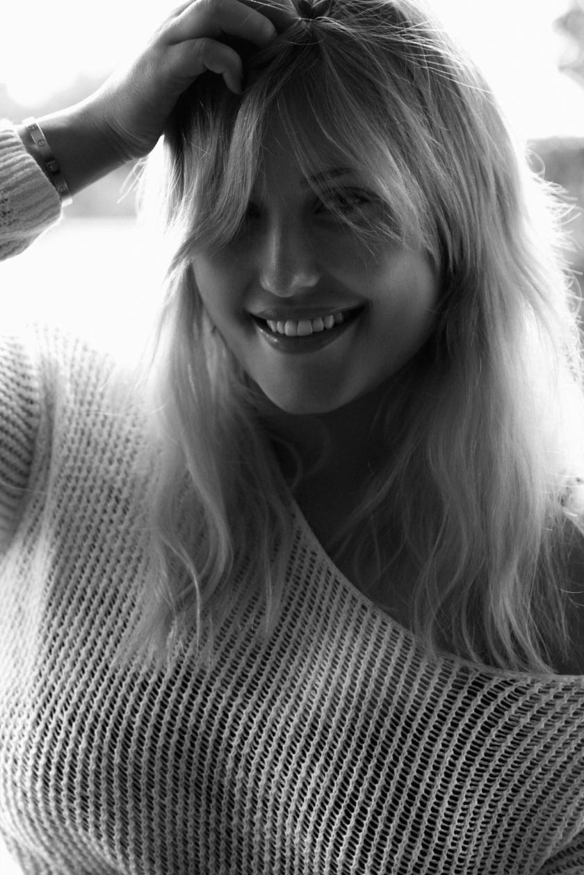 In the mood ... Hayley Hasselhoff I Model