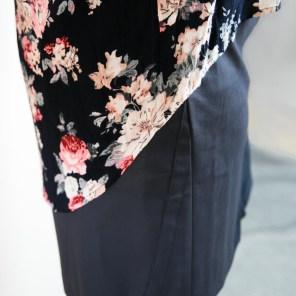 Bluse mit Blumenprint