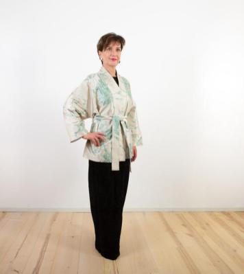 Kimono-Jacke aus Seide | Credit:KimonoManufaktur.de