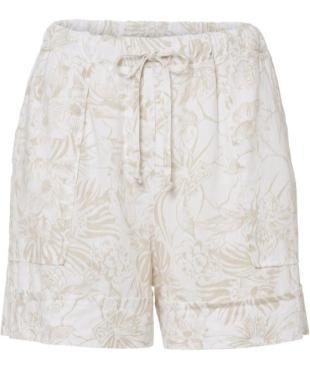Shorts aus Leinen in Plus Size