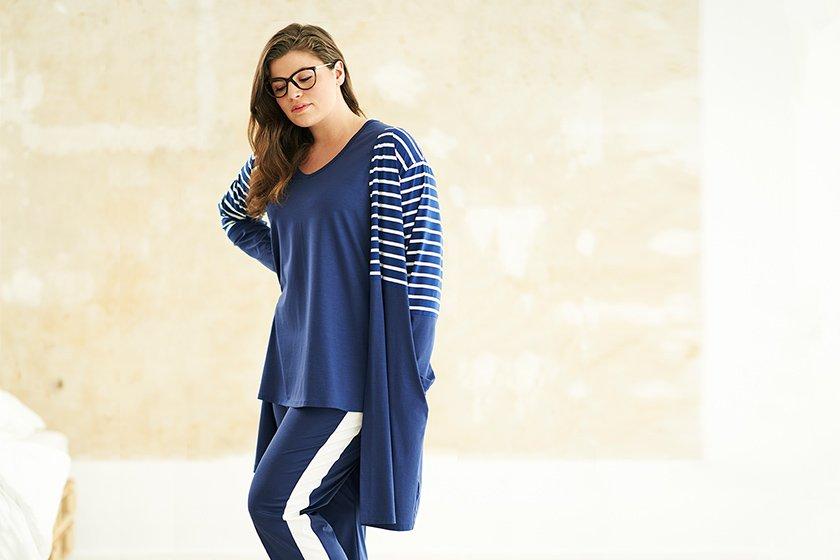 Preview: Rösch Curve präsentiert die Lounge- und Nightwear-Kollektion Spring-Summer 2019