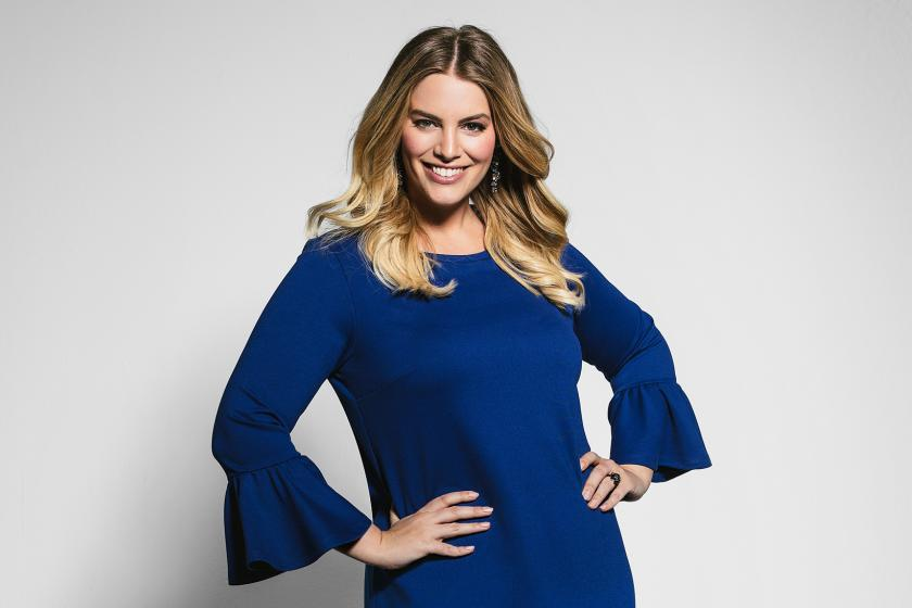 Rock your Curves by Aldi: Plus Size Model Angelina Kirsch macht Mode für den Discounter