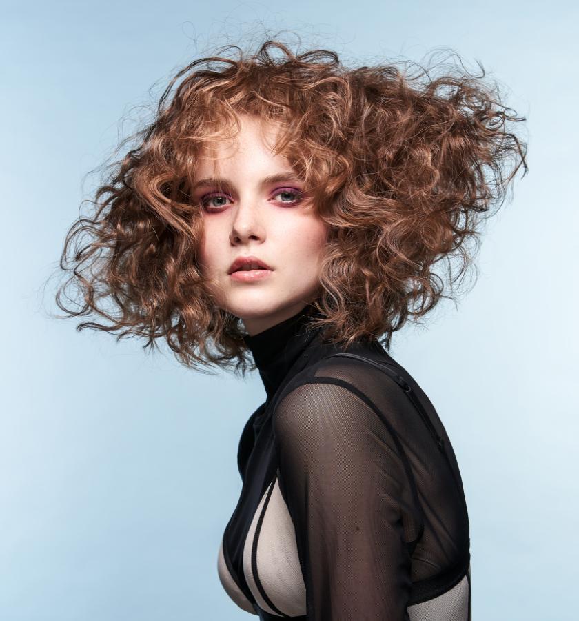 Basis-Cut im Curly-Style