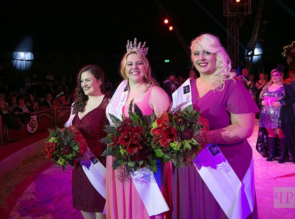 Die Siegerinnen der Fräulein Kurvig Wahl 2019
