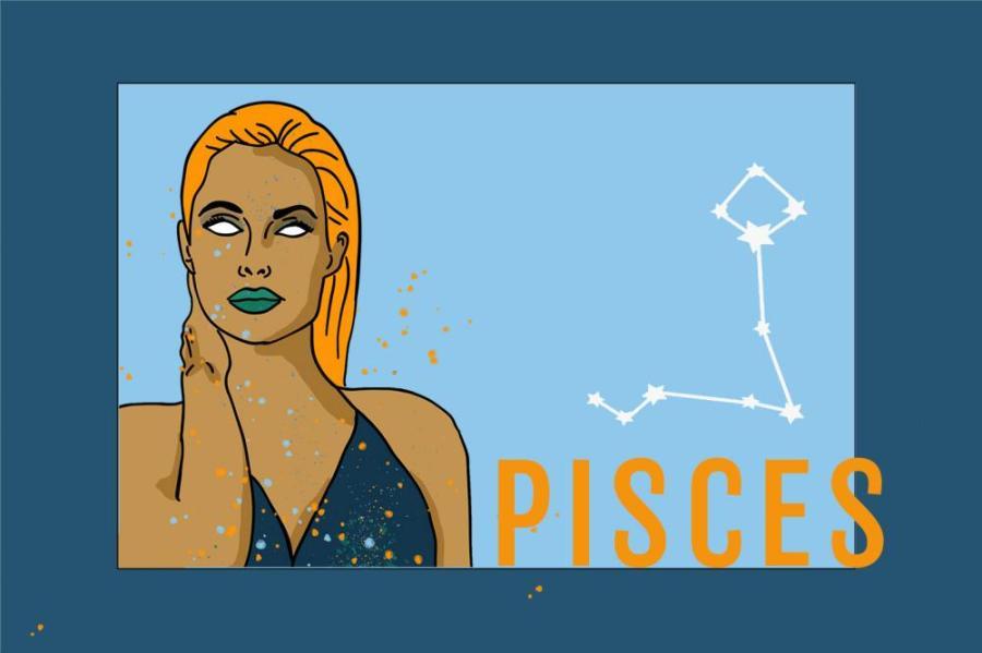 Zodiac Pisces | Das Sternzeichen Fische | PopArt by Ann-Christin Scharf | PlusPerfekt