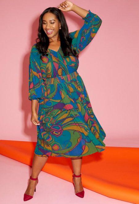 Kleid im Retro-Style | Anna Scholz