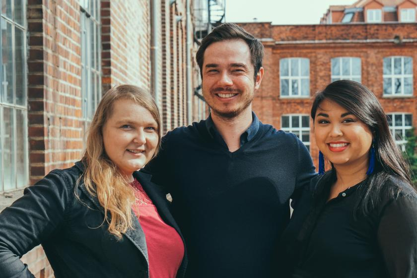 Nane, Stephan & Tiffany - Das Gründerteam von Wundercurves