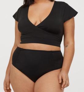 High-Waist-Bikini aus der Curve Kollektion von H&M
