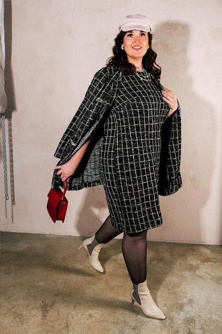 Dress & Gehrock von Sara Lindholm | Happy Size