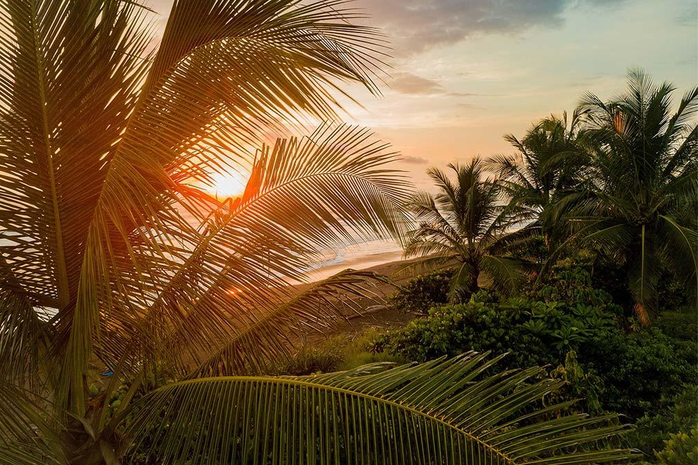 Sonnenuntergang auf Costa Rica