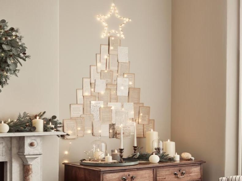 DIY Alternative zum klassischen Weihnachtsbaum