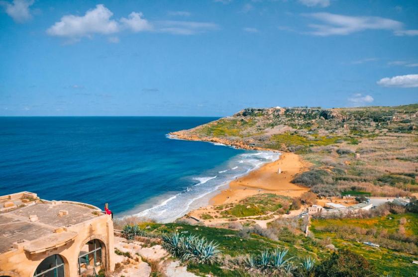 Frauenreise nach Gozo: Traumhafte Aussicht