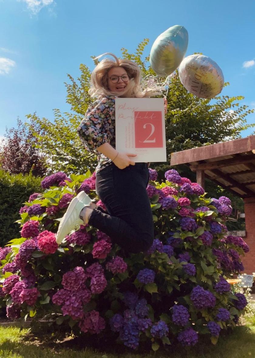 Jennifer Schulte vom Team Vollkommen.Braut in Hamburg | Credit: PR