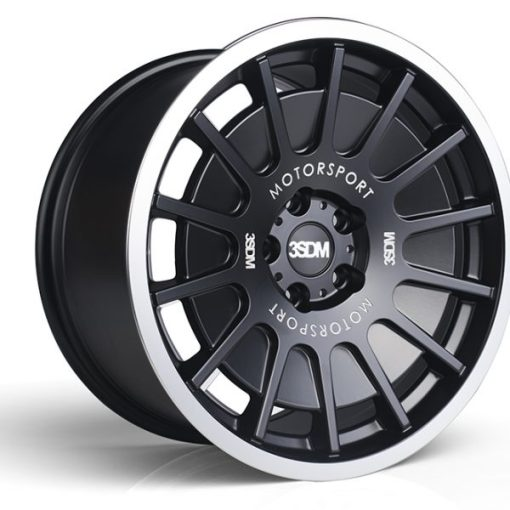 3SDM wheels 0.66 Satin Black Polished Lip