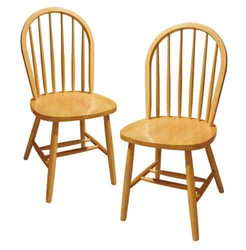Winsome Wood Windsor Chair - 400 lb weight capacity dining chairs