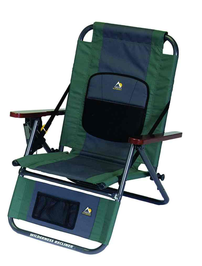 GCI Outdoor Wilderness Recliner Backpack Outdoor Chair