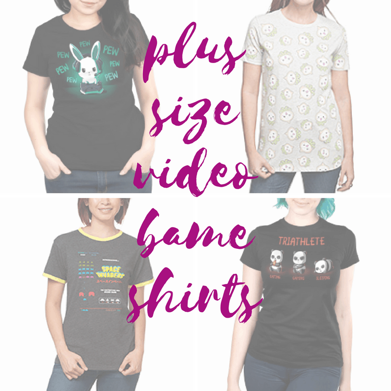 Plus Size Video Game Shirts