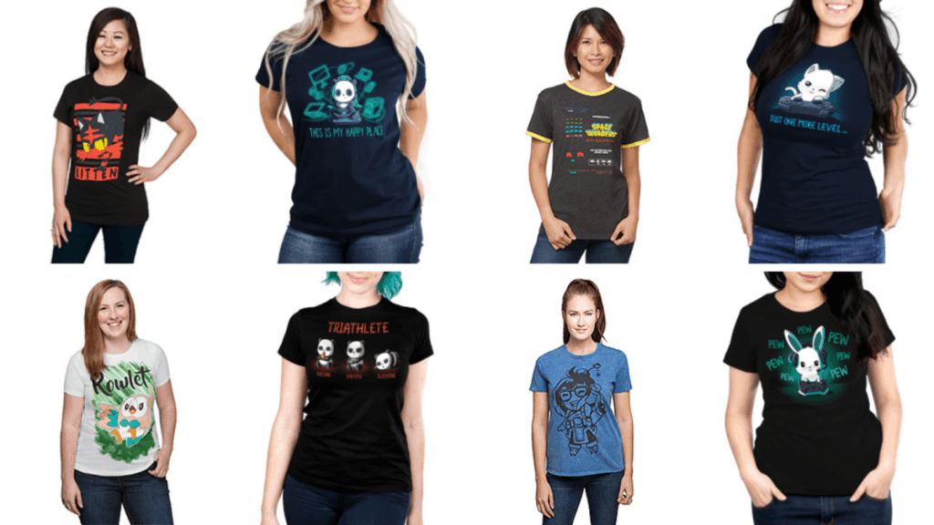 Video Game Shirts for Plus Size Women Who Got Skillz