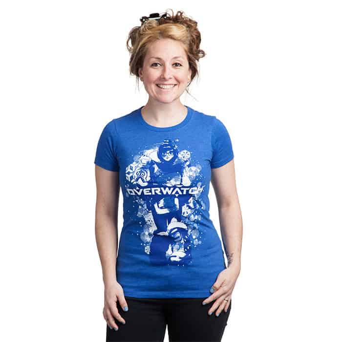 Plus Size Overwatch T-shirt Mei