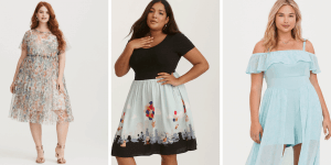 Plus Size Disney Spring Dresses
