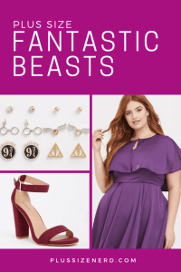 Collage of fashion photos for plus size women