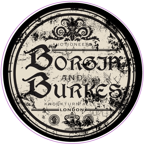 Logo for Borgin and Burkes from Harry Potter books