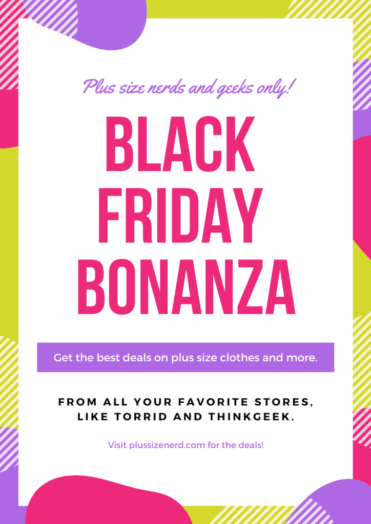Black Friday Cyber Monday – Plus Size Women