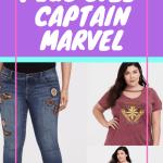 Plus Size Captain Marvel Pin