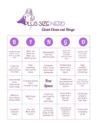 Closet Clean-Out Bingo Thumbnail