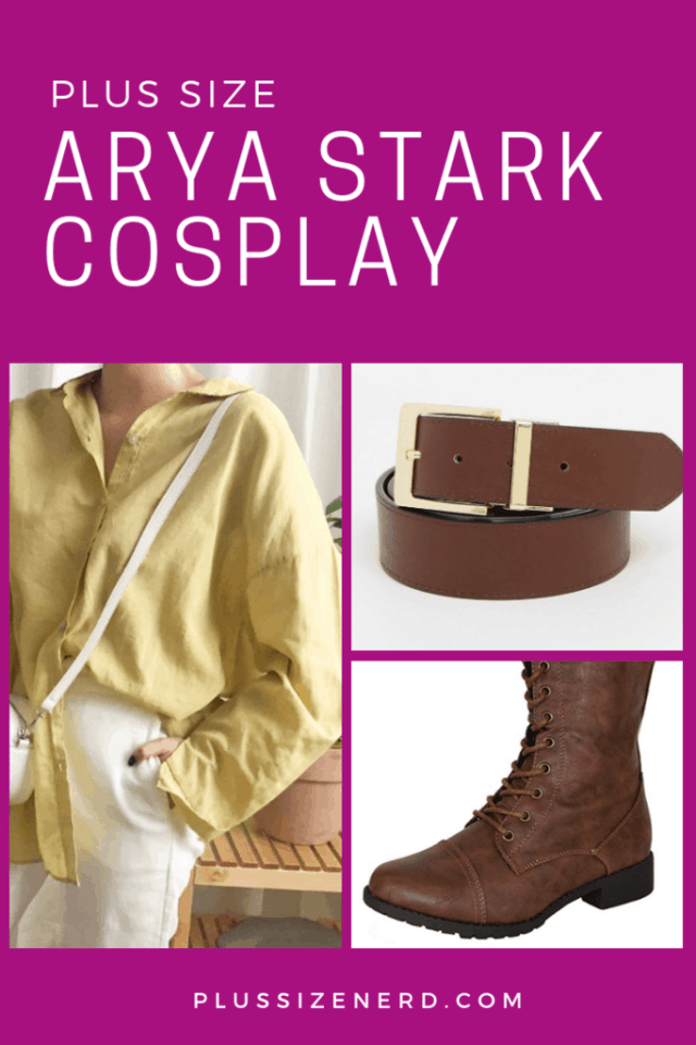 Plus Size Arya Stark Cosplay