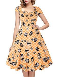 Sugar Skull Swing Dress