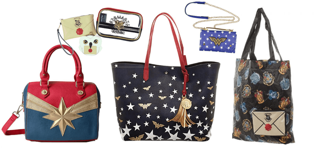 Geek Chic Handbags, Totes and Backpacks for Nerds