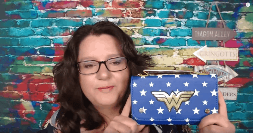Wonder Woman Cross Body Bag