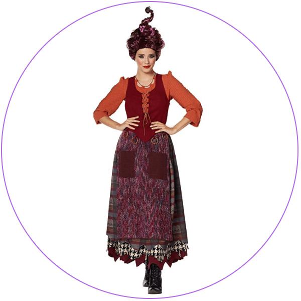 Plus Size Mary Sanderson Costume