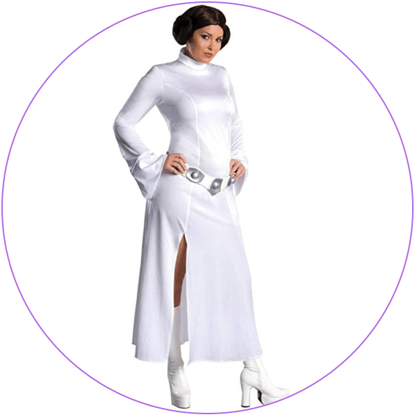Plus Size Princess Leia XL