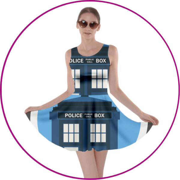 Doctor Who Plus Size Dress