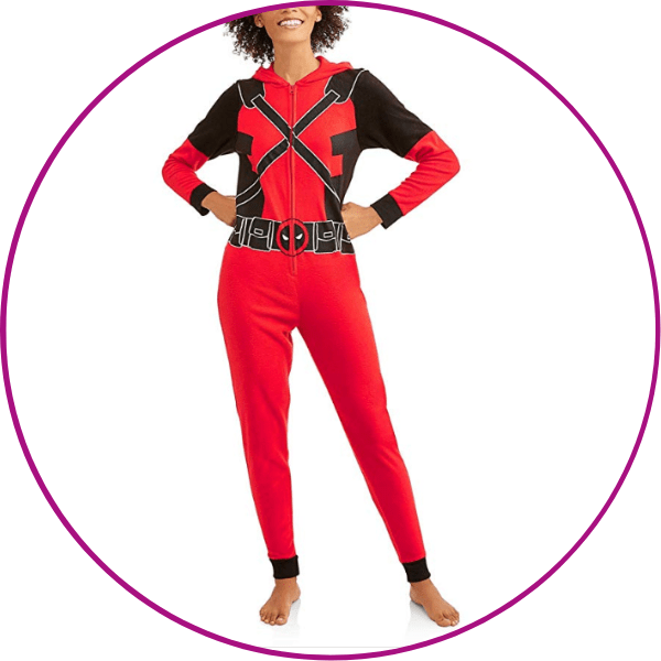 Plus Size Deadpool Onesie