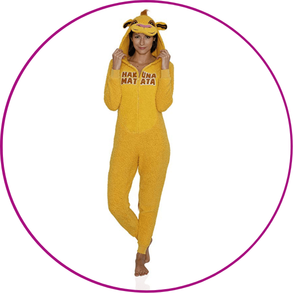 Plus Size Lion King Onesie
