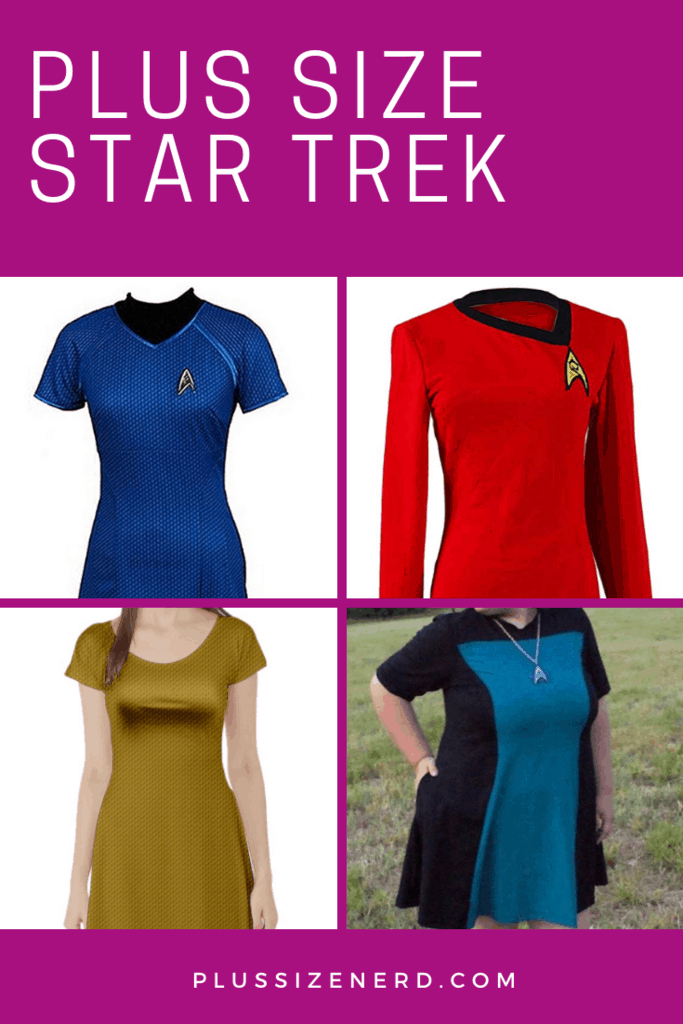 Plus Size Star Trek Dress