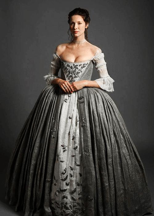 Claire Fraser Wedding Dress