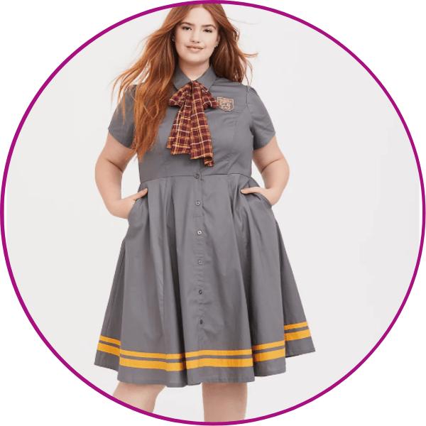 Plus Size Gryffindor Dress