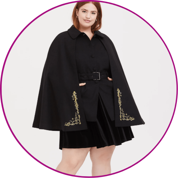 Plus Size Harry Potter Cloak
